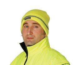 Cerva Zimná reflexná čiapka Turia žltá UNI
