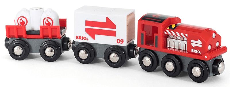 Brio WORLD 33888 Vláčkodráha nákladní set