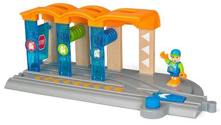 Brio SMART TECH Vasúti kocsi mosó állomás