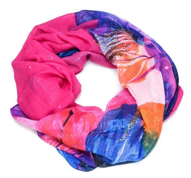 Desigual dámský vícebarevný šátek Corel Rectangle