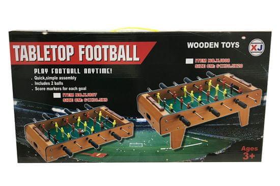 Unikatoy drveni stolni nogomet, 61x31cm šk.25075