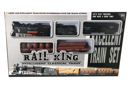Unikatoy vlak GRT.Rail King BAT.ŠK.25053