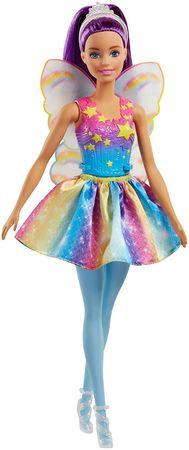 Mattel Barbie tündér lila