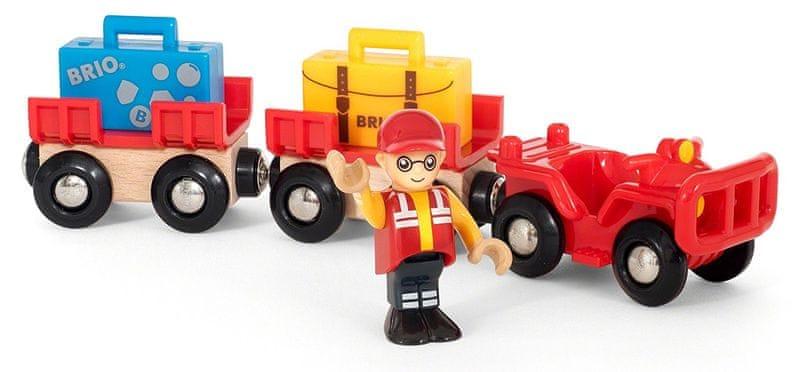 Brio WORLD 33893 Vozík s letištními zavazadly