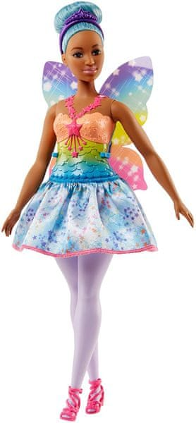 Mattel Barbie víla modrá