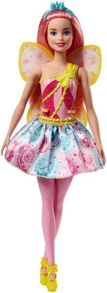 Mattel Barbie víla světle růžová