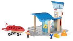 Brio Repülőtér irányítótoronnyal