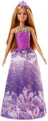 Mattel Barbie princezna - fialová čelenka