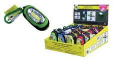 Finish baterijska LED svetilka s karabinom COB