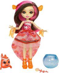 Mattel Enchantimals Bábika Clarita a ryba klaun