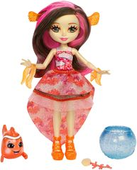 Mattel zestaw Enchantimals lalka Clarita Clownfish i Cakle