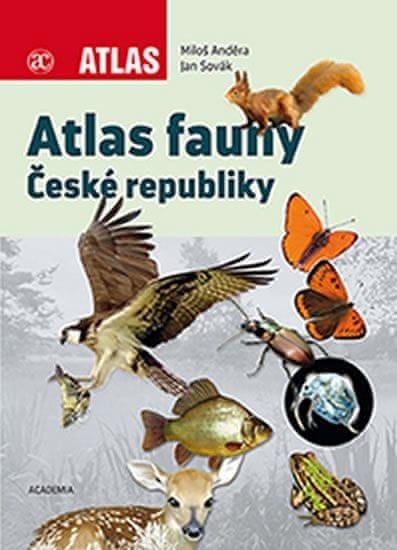Anděra Miloš, Sovák Jan,: Atlas fauny České republiky