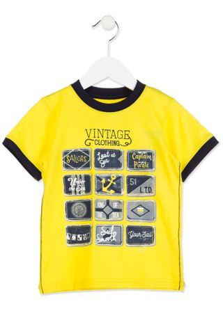 Losan chlapecké tričko 92 žlutá