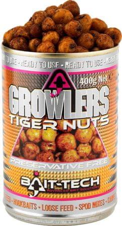 Bait-Tech tygří ořech v nálevu growlers tiger nuts 400 g