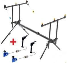 ZFISH Rod Pod Classic 3 Rods + 2x Swinger Extra Carp ZDARMA!