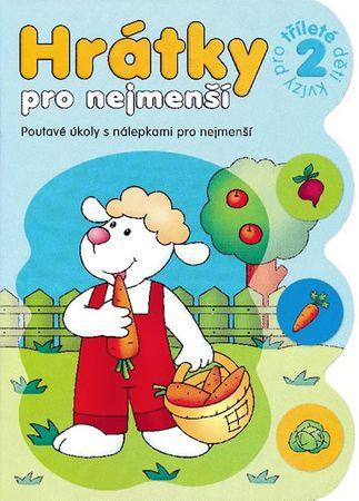 Bator Agnieszka: Hrátky pro tříleté děti 2 část