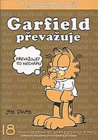 Davis Jim: Garfield převažuje (č.18)