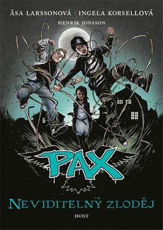 Larssonová Asa, Korsellová Ingela,: Pax 4 - Neviditelný zloděj