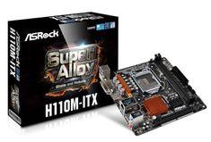 ASRock osnovna plošča H110-ITX LGA1151 Mini-ITX DDR4