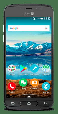 Doro 8040, CZ LTE, szürke
