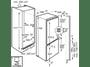 5 - AEG SCE81811LC Beépíthető hűtőszekrény