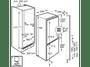 8 - AEG SCE81821LC Beépíthető hűtőszekrény