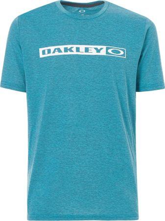 Oakley majica So New Original Tee, Atomic Blue Dk Heather, S