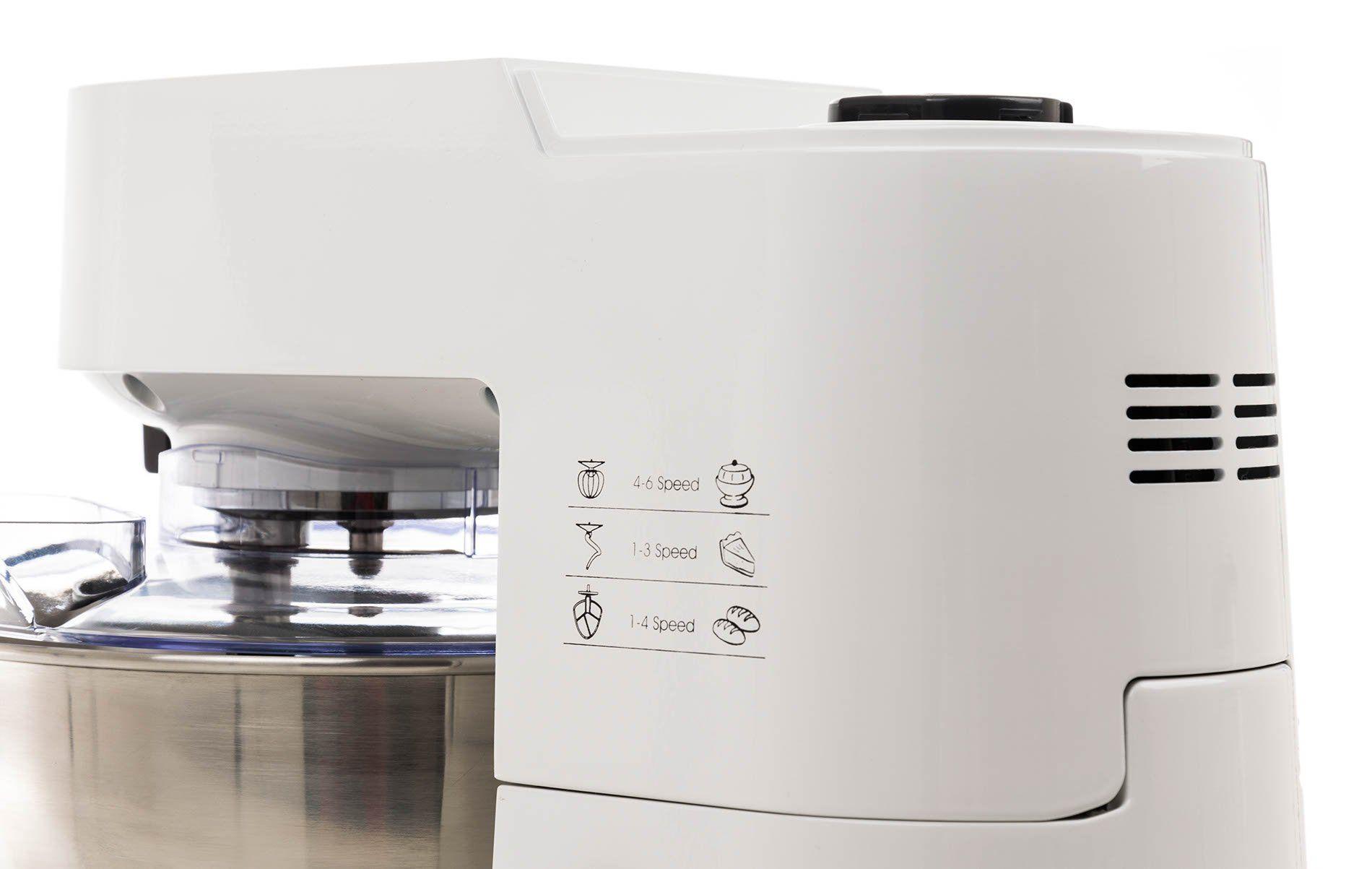 Detail kuchyňský robot G21 Promesso White bok