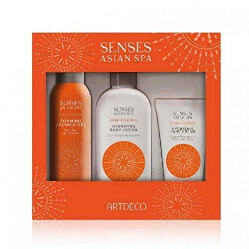 Artdeco Energizující sada tělové péče s kustovnicí a zázvorem Senses Asian Spa (Energy Gift Set)