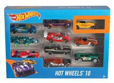 Hot Wheels Angličák 10pack