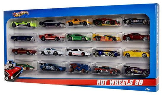 Hot Wheels Samochody - 20 szt.