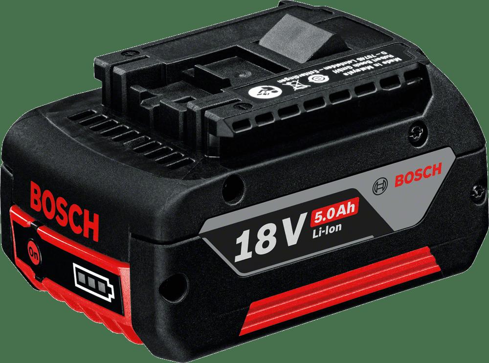 BOSCH 18V, 5,0Ah, Cool-Pack Li-Ion