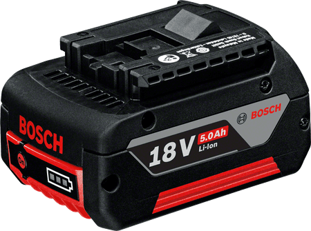 BOSCH Professional baterija GBA 18V, 5,0Ah