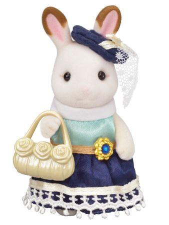 Sylvanian Families Chocolate králičice se žlutou kabelkou 6002