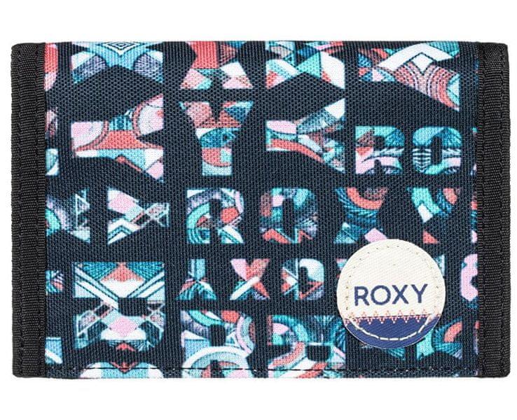 Roxy Peněženka Beach Glass Anthracite Small Urb ERJAA03308-XKBM