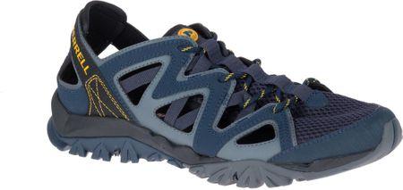 Merrell moški čevlji Tetrex Crest Wrap, Navy, 43,5