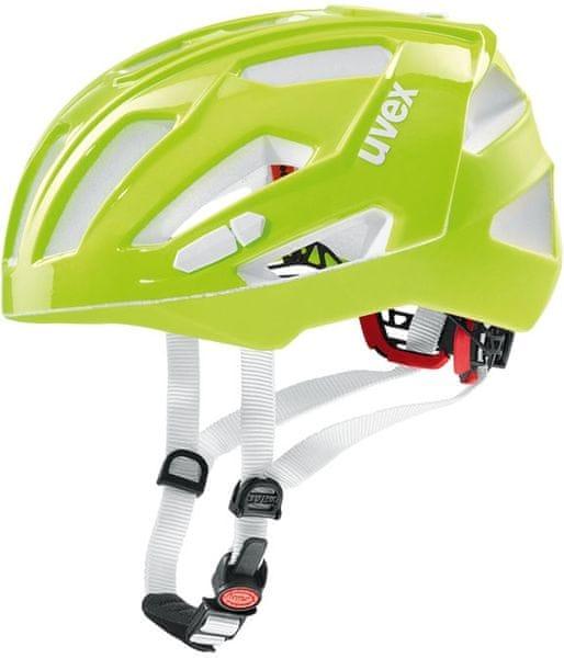 Uvex Quatro XC Neon Lime 52 - 57 cm