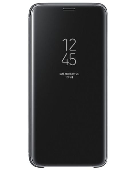 Samsung Flipové pouzdro Clear View se stojánkem pro Samsung Galaxy S9 (EF-ZG960CBEGWW)