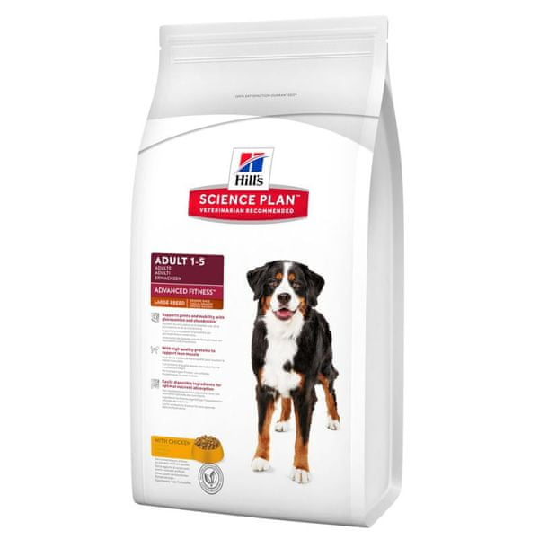 Hill's Canine Adult Advanced Fitness Large Breed Chicken 18 kg