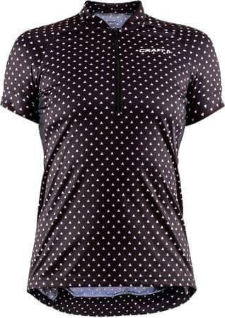 Craft ženska kolesarska majica Velo Art, črna, XL