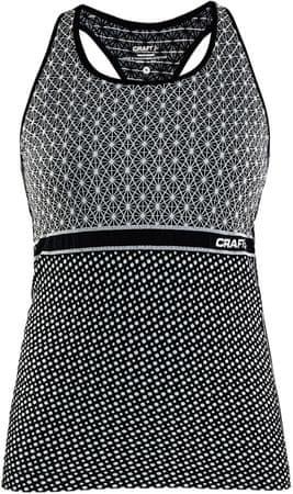 Craft Nátělník Core Block černá s bílou S