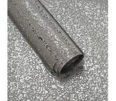 Giftisimo Luxusní strukturovaný balicí papír, stříbrný, lesklý, 5 archů