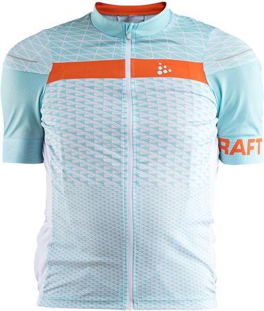 Craft koszulka kolarska męska Route, jasnoniebieski L