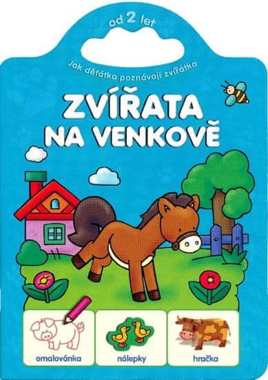 Bator Agnieszka: Jak děťátka poznávají zvířátka - Zvířata na venkově
