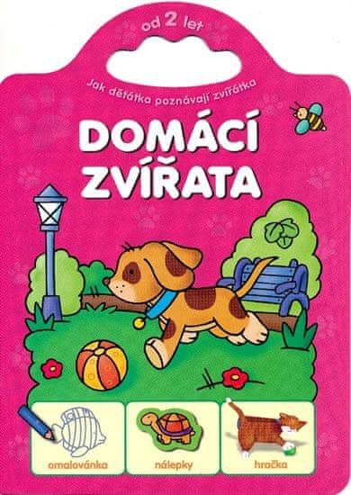 Bator Agnieszka: Jak děťátka poznávají zvířátka - Domácí zvířata