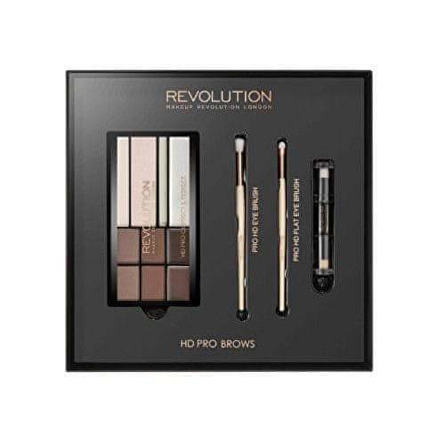 Makeup Revolution Dárková sada na úpravu obočí (HD Pro Brows)