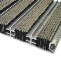 FLOMA Textilní hliníková čistící vnitřní vstupní rohož HardmatT - 60 x 260 x 1,8 cm