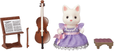 Sylvanian Families Cellistka selymes cica 6010