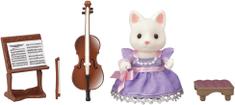 Sylvanian Families Cellistka hodvábna mačka 6010
