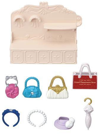Sylvanian Families Mesto - módny butik s kabelkami a doplnkami 6015